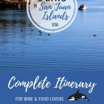 San Juan Islands Itinerary Pinterest Pin