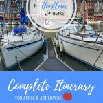Things to Do in Honfleur, France Pinterest Pin