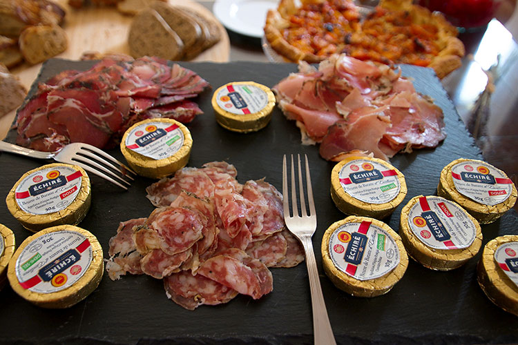 A selection of charchuterie