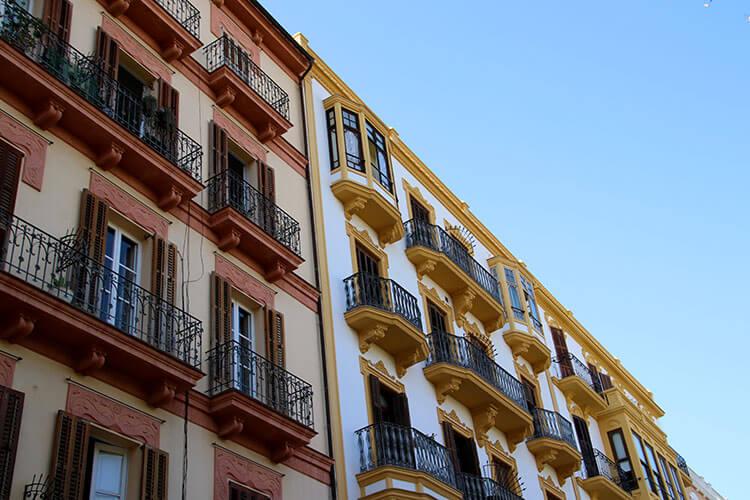 Architectur of Ibiza's oldest hotel