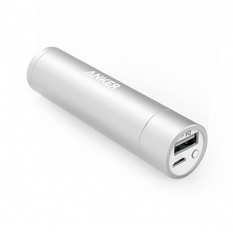 Anker PowerCore Mini in silver