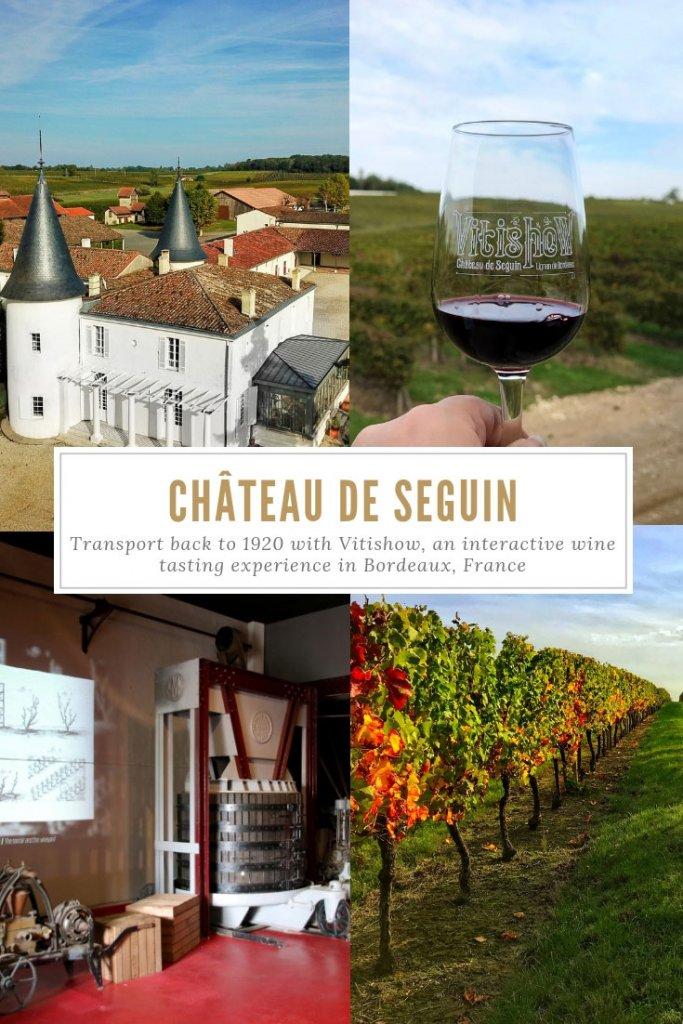 Vitishow, Chateau de Seguin, Entre-Deux-Mers, Bordeaux, France Pinterest Pin