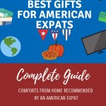 Best Gifts for American Expats Pinterest Pin