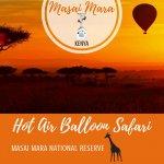 Governors' Balloon Safaris, Masai Mara, Kenya Pinterest Pin
