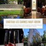 Chateau Les Carmes Haut-Brion, Bordeaux, France Pinterest Pin