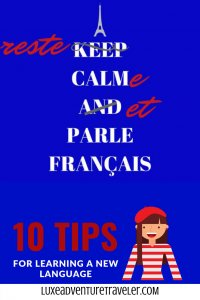 How to learn French Pinterest Pin