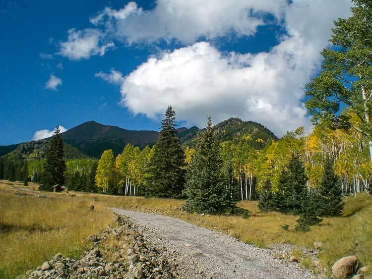 Mount Humphrey's via Inner Basin Trail in the Fall