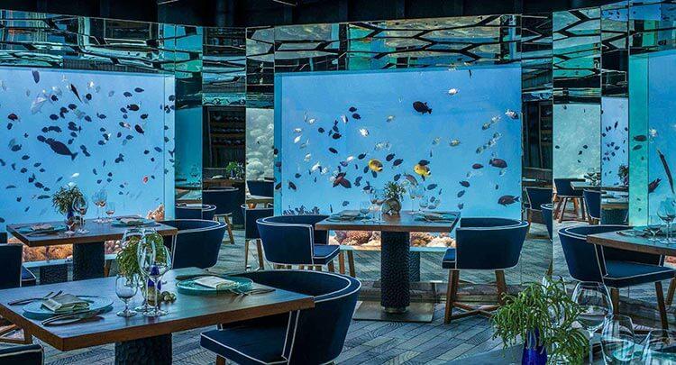 Anantara Kihavah Maldives SEA Underwater Restaurant